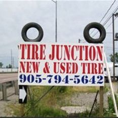 Tire Junction Sign